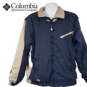 Vtg 90's Columbia Convert Sherpa Lined Ski Jacket
